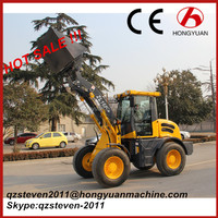 Chinese mini loader, ZL16F mini front wheel loader with Euro 3/EPA Tier 4 engine for sale
