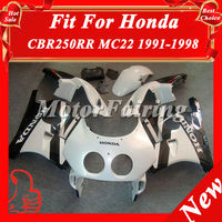 Bodykit for Honda CBR250RR Motorcycle Fairings CBR250 MC22 90 91 92 93 94 95 96 97 98 99 MC22 bodywork bodypart white black