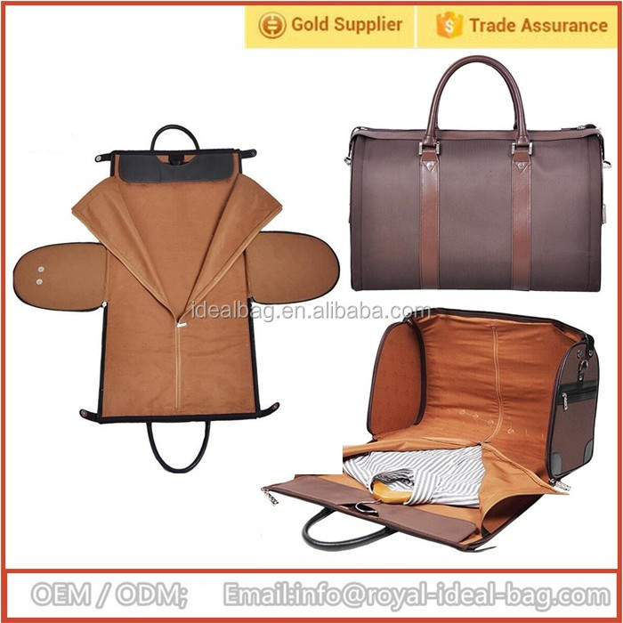 Customized size business travel garment suit bag for men's wholesale