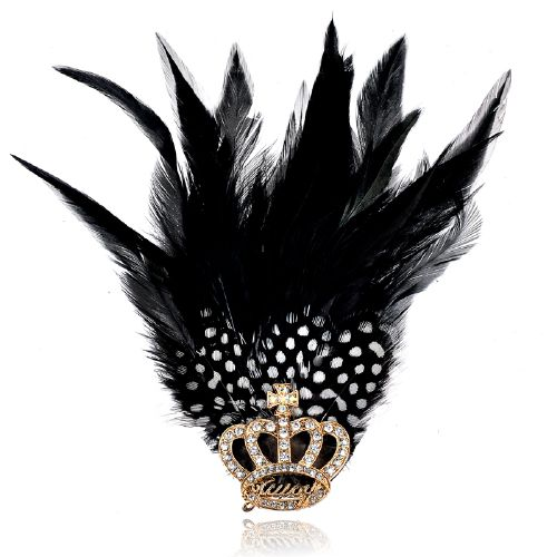 Hot sell2016 New Hot Fashion feather brooch clip factory for sale