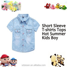Popular New China Wholesale Summer Baby Clothes For Boys T-shirts
