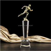 Wholesale Crystal Replica World Cup Champions League Columns Metal Trophy Designs