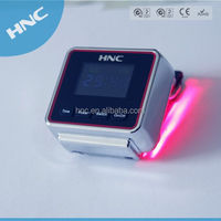 2014 new invention product Diabetes portable equipment Wrist Type LLLT Hyperlipidemia Treatment Equipment Laser watch