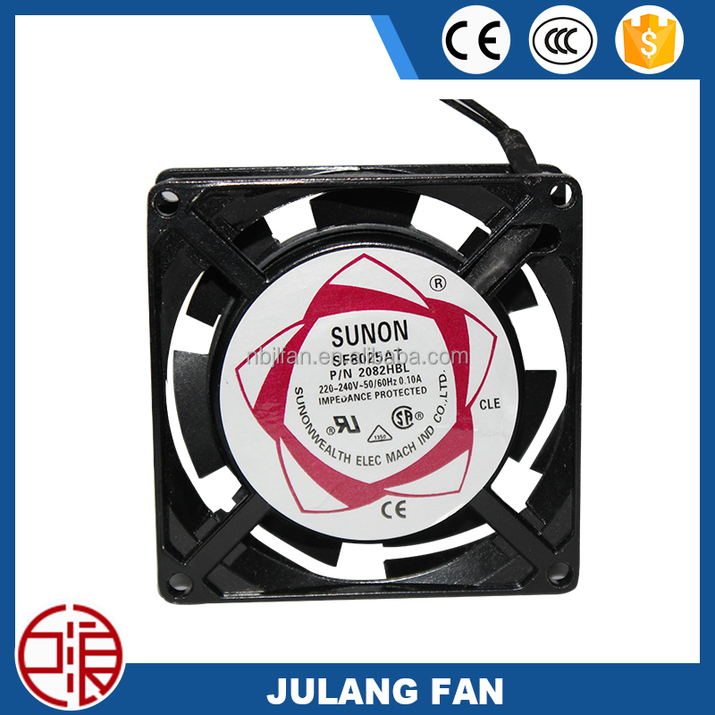 80*80*25 8025 small mini electric cooling fan motor