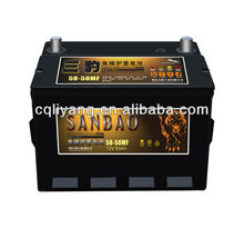 Dry Charged Car Battery Wholesale(32amp--200amp)