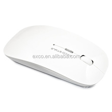 EXCO 2014 Hot Modern Design Foldable 2.4 Ghz Wireless Optical Mouse with USB Receiver for PC Laptop