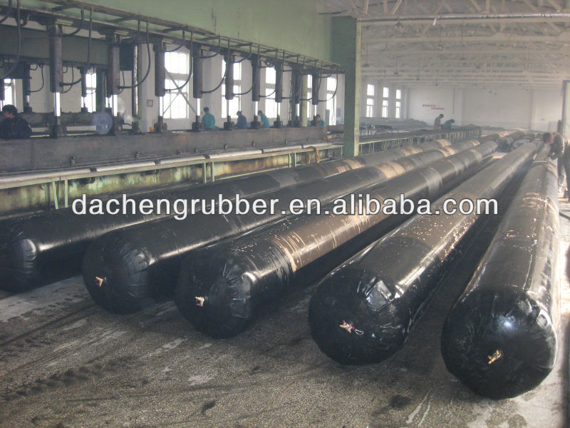 pneumatic rubber gasbag for concrete pipe and culvert,formwork mandrel