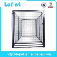 large welded wire panel purple dog crate