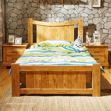 OEM orders acceptable practical two bedsides antique child bed