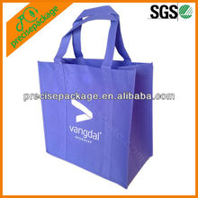 Recycle purple pp non woven promotional shopping tote bag (PRA-815)
