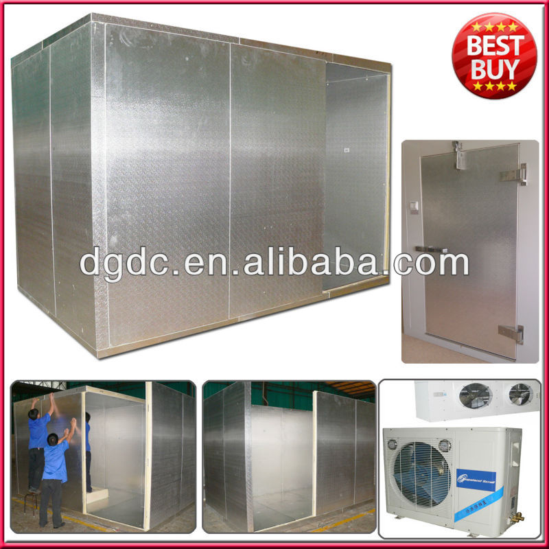 30m3 Cold Storage room with embossing aluminum panels