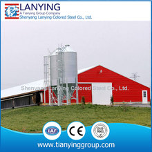 Steel structure small poultry house
