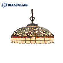 HIGH QUALITY Chinese Stained Glass Lamp TIFFANY STYLE from HEXAD GLASS