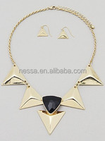 Fashion triangle pendant necklace NSNK-23220