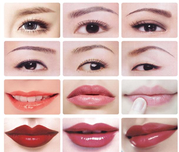 Guangzhou Cosmetic Permanent Makeup Pen Temporary Eyebrows Tattoo