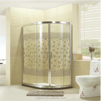 Best price for bubble glass shower door