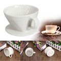 Coffee Maker Filter Cone, Ceramic Coffee Dripper filter cup