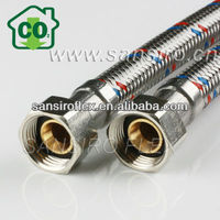 Braided Flexible Hose,epdm tube with 304 stainless steel wires braided