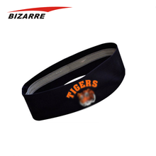 Wholesale custom elastic logo printed sports headband