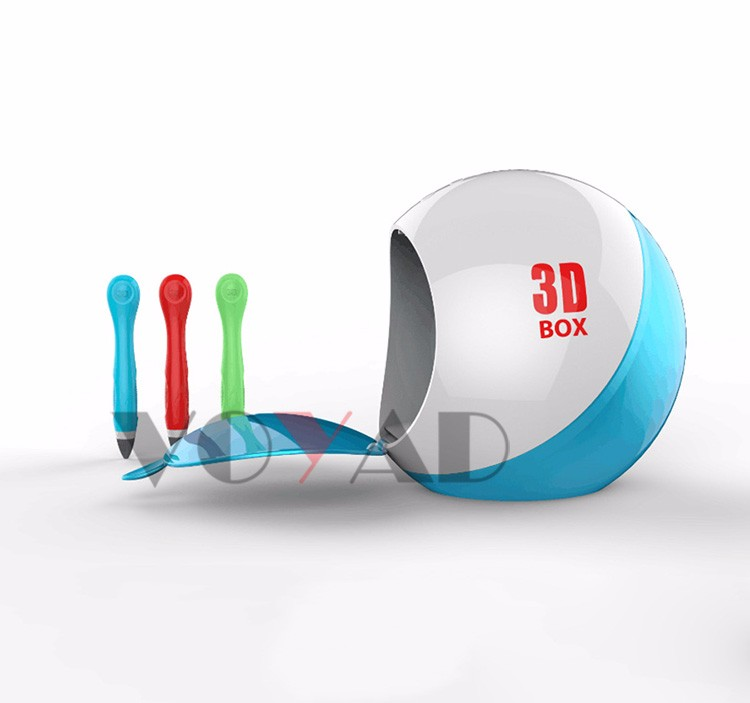 Latest multifunction disinfect 3D printing pen box 0 temperature drawing pen cool ink 3d pen creator
