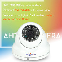 Vitevision rotating dome surveillance cameras optional TVI CVI AHD CCTV dome camera case