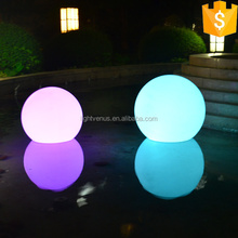 Fashion design color changing waterproof led moon light ball