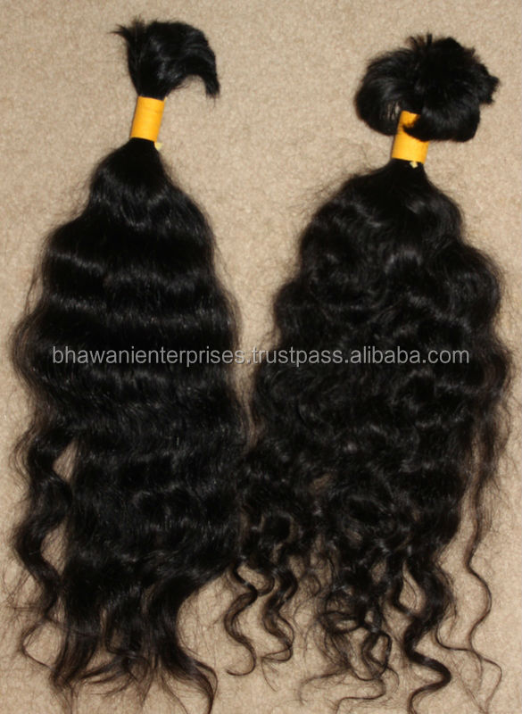 100% PURE Virgin Indian temple hair
