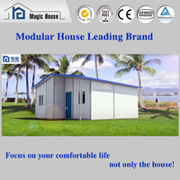 Eco friendly green house low cost prefab house kits sip panels