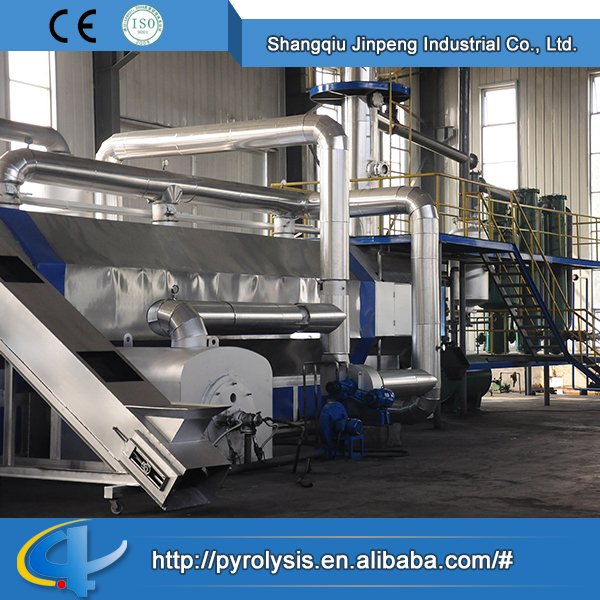 High Quality Factory Price continuous tire shredding pyrolysis machine
