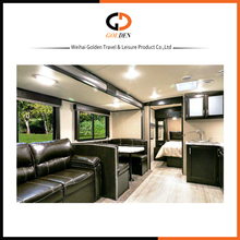 High quality Luxury decoration RV off-road caravan