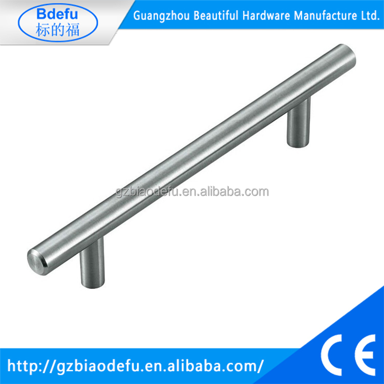Stainless Steel Modern T Bar Cabinet Drawer Handle Pulls Kitchen Cupboard Hollow Brushed Nickel 3 Inch 15 Pack