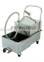 Kitchen Equipment Frying Oil Filtering Machines/Used Oil Filtering Machines