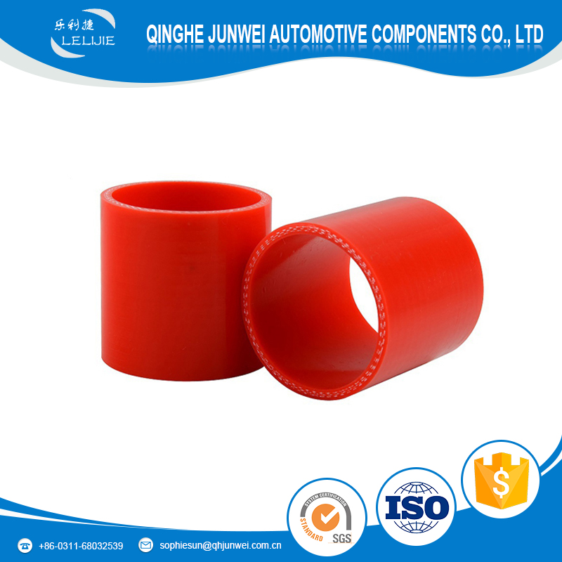 Fuel oil resistant nitrile red silicone hose for 1.8t inlet pipe
