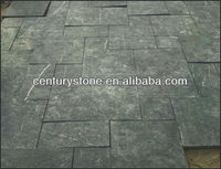 Honed Chinese blue limestone paving stone