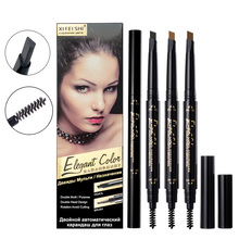 Factory Wholsale High Quality Makeup Brows Automatic Eyebrow Pencil With Eye Brows Brush Waterproof Long-lasting