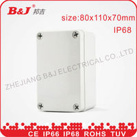 IP68 ABS plastic waterproof junction enclosure box