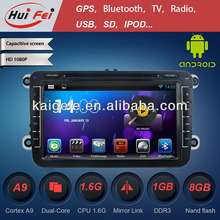 HuiFei Android 4.2.2 for Volkswagen Touareg Navigation CD with Mirror Link Capacitive Touch Screen Multipoint support OBD2