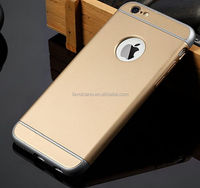 Luxury Ultra-thin Shockproof Armor Back Case Cover for Apple iPhone 6 6S Golden color