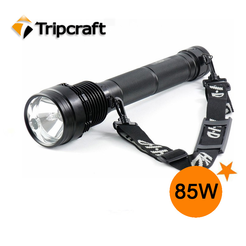 Top quality 85W Rechargeable Zoom adjustable HID Flashlight TORCH 8500Ml,UV FLASHLIGHT