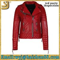 New Arrival fight club leather jacket, ladies secret good quality moto leather jacket, natural leather jackets germany