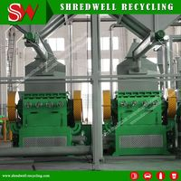 Low Operating Cost Tire Granulator For
