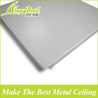 Decorative suspension acoustic ceiling board