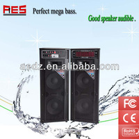 Guangdong Factory 2015 direct selling audio music equipment home theatre karaoke speaker with usb sd fm bluetooth