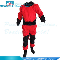 4 layers Fabric Kayak Rubber Dry Suit for Kayaking Paddling Cano