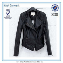 Spring fashion king leather jacket in china for women