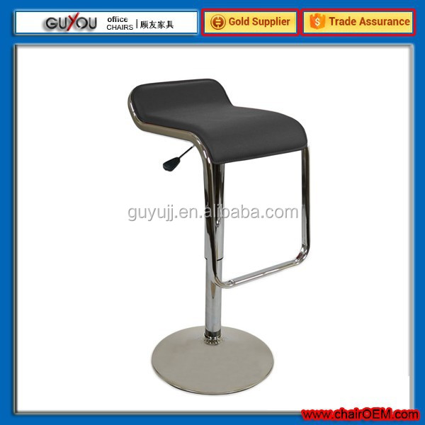 Y 730 PU PVC Leather Bar Stool Kitchen Chair Gas Lift Swivel Luxury Chair