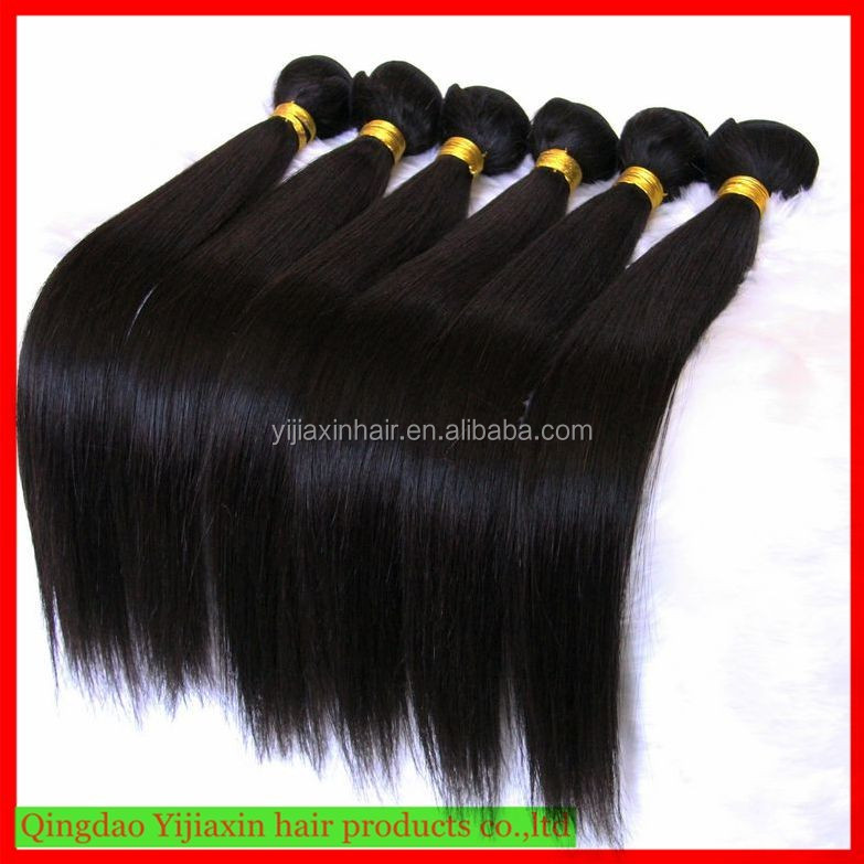 New fashion factory price brazilian human hair bundles silky striaght 10inch to 30inch ,unprocessed cheap mink brazilian hair