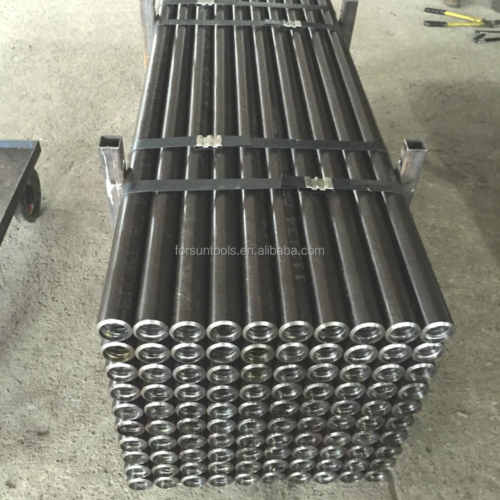 API water well drill rod/aw bw nw geological core drill rod/drill pipe