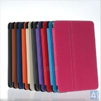 PU Leather Stand Case Cover with Stylus Holder for iPad Mini 2 P-IPDMINIiiCASE042