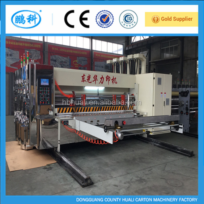 HUALI BEST DISCOUNT buy printing slotting and die-cutting machine for corrugated carton box